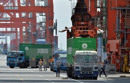 Nhật Bản thâm hụt thương mại lần đầu tiên sau 4 tháng