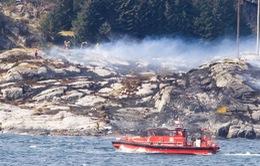 Na Uy tiếp tục tìm kiếm người mất tích sau tai nạn máy bay