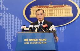 Việt Nam phản đối lãnh đạo Đài Loan ra đảo Ba Bình
