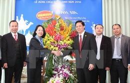 Đồng chí Trương Thị Mai thăm, chúc mừng Hội thánh Tin lành Việt Nam