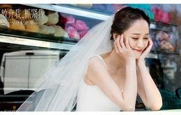 Trần Kiều Ân lộng lẫy với váy cưới, quấn quýt bên Vương Khải