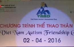 Hàng trăm trẻ tự kỷ tham gia Ngày hội thể thao thân thiện cho người tự kỷ