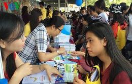 Gần 100 trường tham gia Ngày hội tư vấn – hướng nghiệp 2016