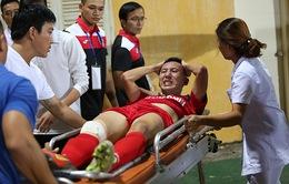 Nghiêm Xuân Tú chia tay AFF Cup 2016