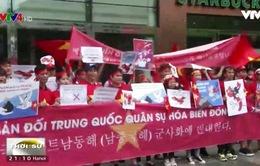 Tuần hành phản đối Trung Quốc về vấn đề Biển Đông ở Hàn Quốc