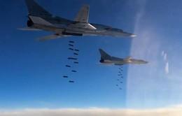 Máy bay Nga phá hủy nhiều kho vũ khí của IS