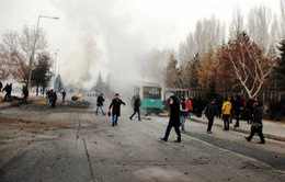 Thổ Nhĩ Kỳ bắt 7 đối tượng tình nghi liên quan đến vụ đánh bom xe
