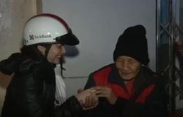 Chăn ấm đầu Đông cho người vô gia cư