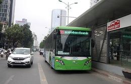 Cấm tất cả phương tiện dừng, đỗ dọc tuyến BRT Kim Mã - Yên Nghĩa