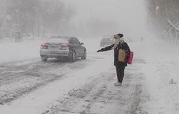 Tuyết phủ trắng nhiều khu vực ở Trung Quốc