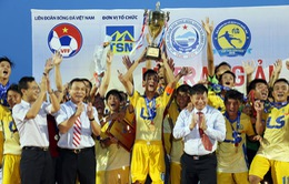 Chung kết U17 Quốc gia Cúp Thái Sơn Nam 2016: Đánh bại U17 VPF, U17 Đồng Tháp giành chức vô địch