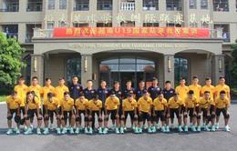 U19 Việt Nam sang Trung Quốc tập huấn sau chức vô địch KBZ Bank Cup
