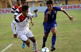 Bán kết U19 ĐNA: U19 Thái Lan thắng vất vả U19 Timor Leste