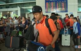 U23 Việt Nam về nước trong sự chào đón nồng nhiệt của người hâm mộ