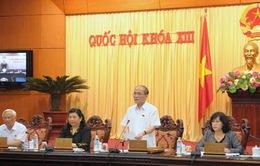Khai mạc phiên họp thứ 44 Ủy ban Thường vụ Quốc hội