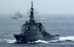 Nhật Bản huy động tàu khu trục chặn tên lửa của Triều Tiên