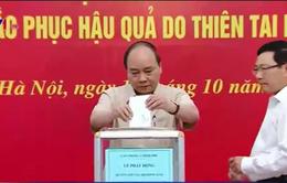 Thủ tướng Chính phủ phát động quyên góp ủng hộ đồng bào các tỉnh miền Trung