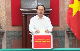 Văn phòng Chủ tịch nước ủng hộ đồng bào vùng lũ