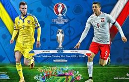 EURO 2016, Ba Lan – Ukraine: Chiến thắng để cạnh tranh ngôi đầu (23h00 trên VTV3 & VTV3HD)