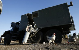 Nổ tên lửa khiến 3 người thiệt mạng tại Ukraine