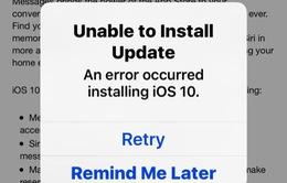 """iOS 10 có thể khiến iPhone của bạn trở thành """"cục gạch""""?"""