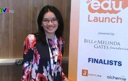 Ứng dụng Việt Nam đoạt giải Nhất cuộc khi khởi nghiệp giáo dục tại Mỹ