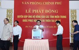TP.HCM tổ chức quyên góp cứu trợ các tỉnh miền Trung