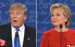 """Tranh luận Trump - Clinton: Cuộc """"đấu khẩu"""" ứng viên Tổng thống kỳ lạ nhất lịch sử nước Mỹ"""