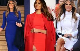 Gu thời trang gợi cảm của tân Đệ nhất phu nhân Melania Trump