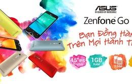 Đa sắc màu, giá tốt cùng ASUS ZenFone Go phiên bản mới