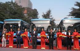 Hà Nội có thêm 2 tuyến xe bus được thay mới
