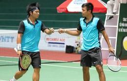 Giải quần vợt Vietnam F7 Futures: Hoàng Nam, Hoàng Thiên vào bán kết đôi nam