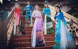 Mê mẩn nét duyên của dàn thí sinh Hoa hậu Biển trong bộ ảnh áo dài