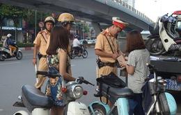 Còn nhiều bất cập khi xử phạt xe máy điện chưa đăng ký