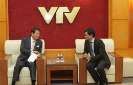 Đẩy mạnh tuyên truyền về mối quan hệ hữu nghị Việt Nam – Nhật Bản trên sóng VTV
