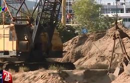 Trộn cát mặn cùng cát ngọt: Mối nguy cho các công trình