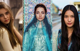 """Vẻ đẹp """"gây mê"""" của phụ nữ trên khắp thế giới"""