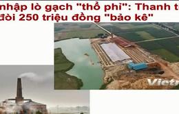 Điểm báo sáng 15/3: Lò gạch trái phép ở Sóc Sơn - Con voi chui lọt lỗ kim?