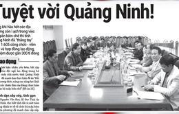 Tinh giản biên chế: Tuyệt vời Quảng Ninh!