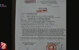 Giả danh đặc phái viên của Thủ tướng Chính phủ để đối phó CSGT
