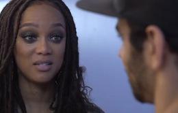 Tyra Banks khóc ròng trước nam Quán quân America's Next Top Model