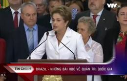 Brazil rơi vào đáy sâu khủng hoảng chính trị