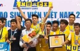 Giải thể thao sinh viên Việt Nam: Đội futsal ĐH Xây dựng lên ngôi vô địch