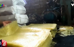 Thâm nhập cơ sở sản xuất miến nhuộm phẩm màu