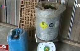 Tẩy nhuộm miến bằng axit và phẩm màu, người sản xuất vô tư cho là sạch