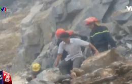 Sập mỏ đá, 2 người thương vong tại Thanh Hóa