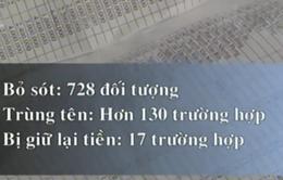 Kiên Giang: Hàng loạt sai phạm chi tiền hỗ trợ thiệt hại do hạn mặn