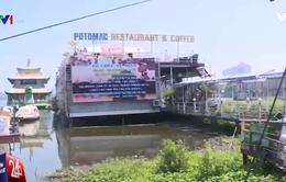 """Tai nạn sập nhà bè ở Ninh Thuận, """"rùng mình"""" nghĩ đến du thuyền ở Hồ Tây"""
