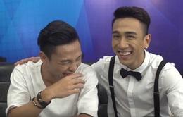 """Vietnam Idol: """"Hotboy du học"""" đòi hôn chàng """"Vịt Beatbox"""" ở hậu trường"""