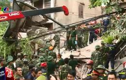 Sập nhà 4 tầng ở Hà Nội: 2 nạn nhân đã được cho xuất viện
